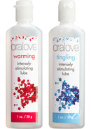 Oralove Dynamic Duo Lickable Warming And Tingling Lubricant...