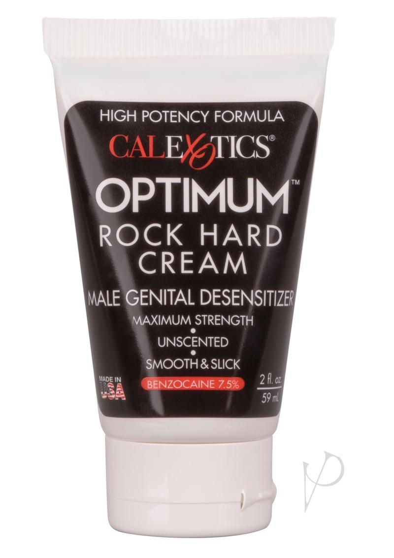 Optimum Rock Hard Cream Enhance Performance Desensitizer 2oz